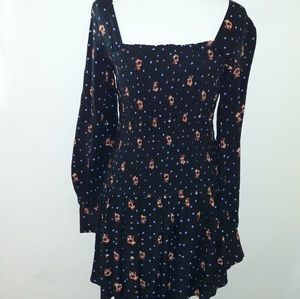 Free People Dresses - Free people | Two Faces Floral Print Mini Dress